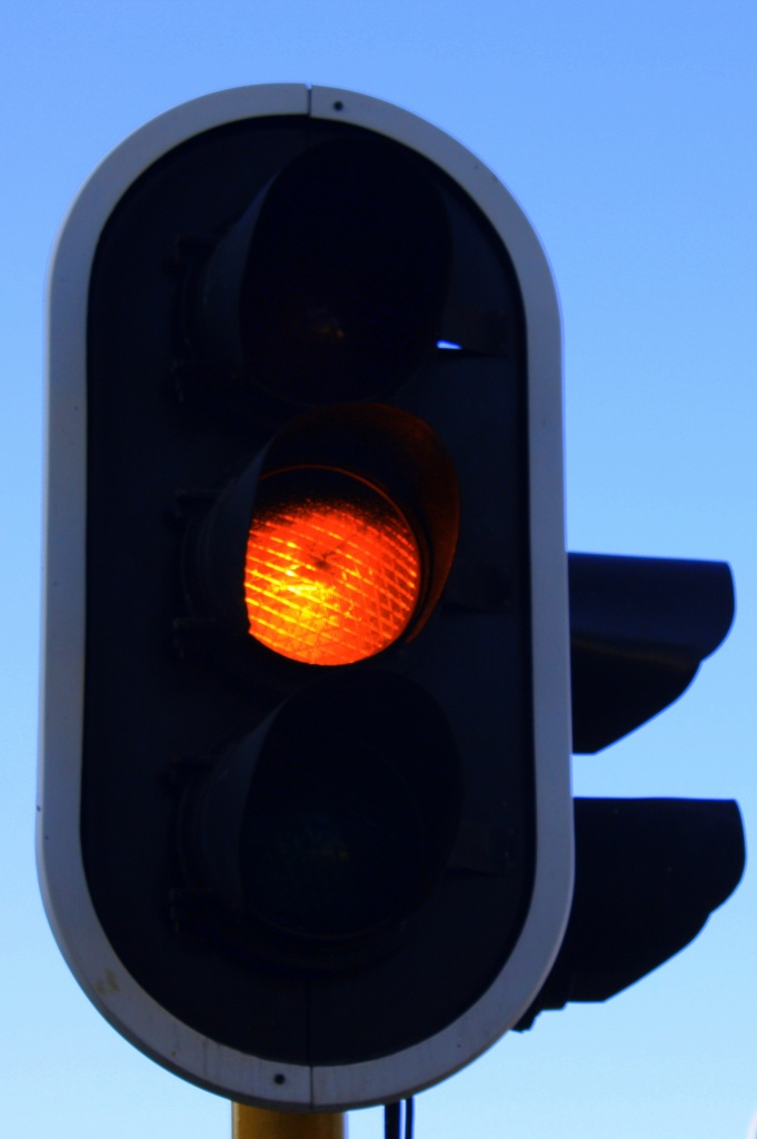What do YOU call this light: yellow, orange or amber? by eleanor