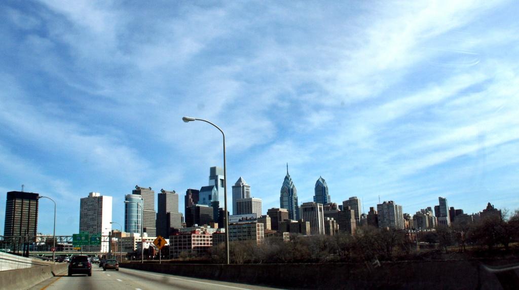 Philadelphia at 50 mph by hjbenson