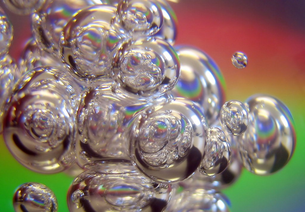 Prism Bubbles by itsonlyart