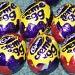 Mini creme eggs by karendalling
