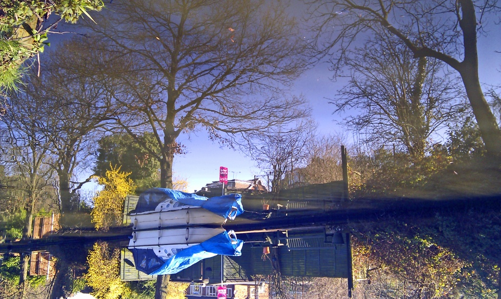 UPSIDE DOWN CANAL ! by phil_howcroft