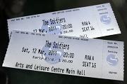 12th Mar 2011 - Tickets