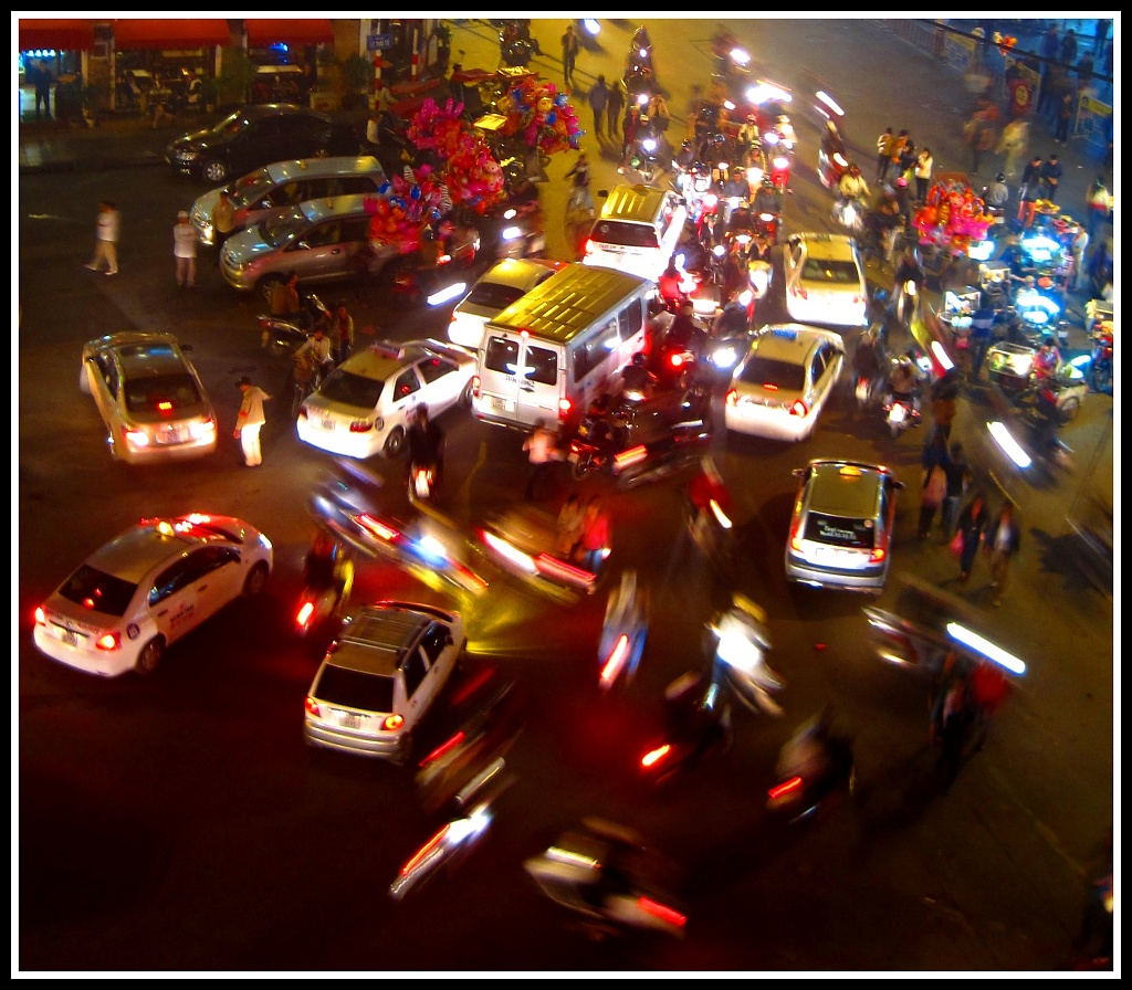 Hanoi Hustle and Bustle by lily