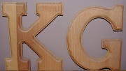 16th Mar 2011 - Wooden letters