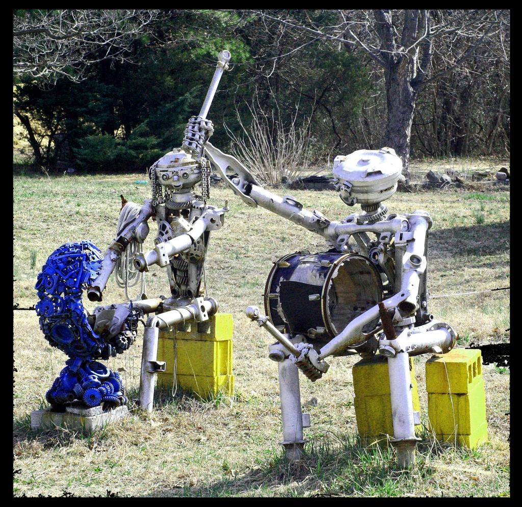 Robot Band by hjbenson