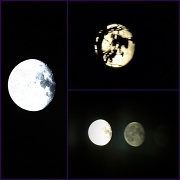 23rd Mar 2011 - Moon collage