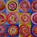 Warhol roses by miranda