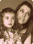 5th Apr 2011 - Aria and her Mommy