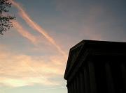 6th Apr 2011 - Magritte sky over la Madeleine