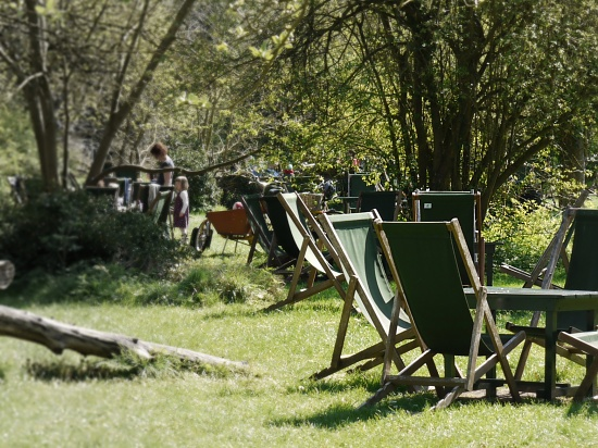 The Orchard Tea Gardens at Granchester by judithg