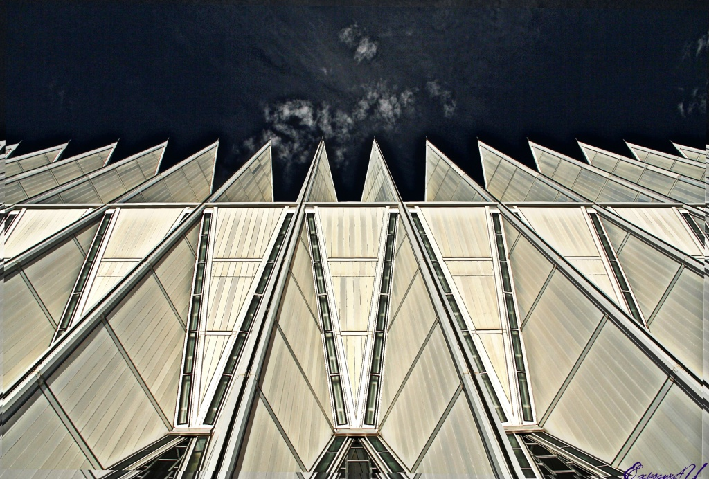 Air Force Academy Chapel by exposure4u