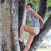 Stuck up a tree by Scrivna