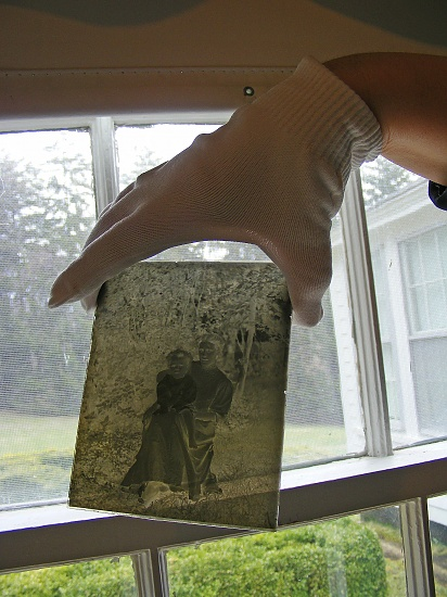 Glass Plate Photo Negative by lauriehiggins