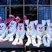 Bunnies on Break by lauriehiggins