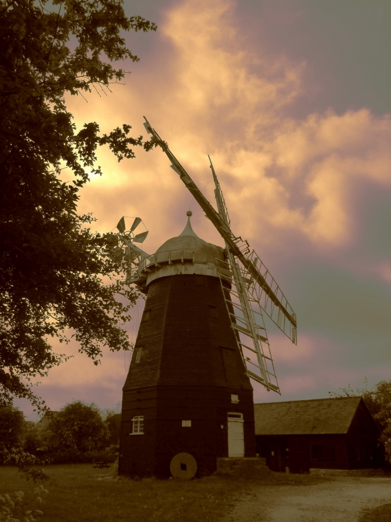 Willingham Windmill by judithg