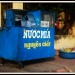 Sugar-cane juice stand by lily