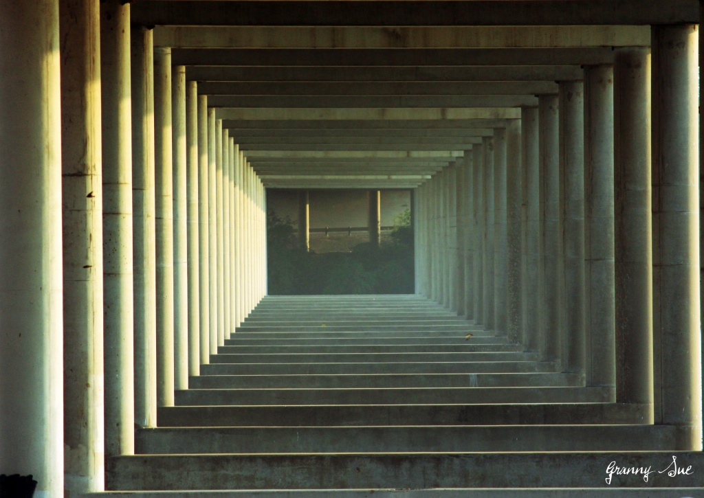 Through the Bridge by grannysue