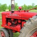 Red Tractor by olivetreeann