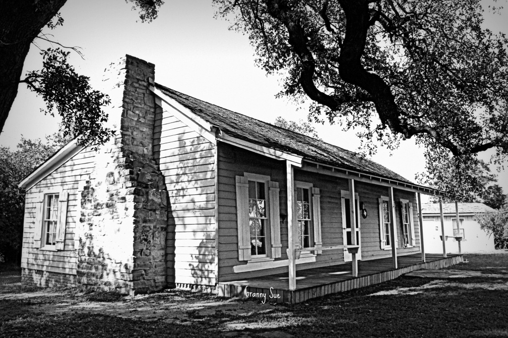 Old Van Zandt Home Circa 1800's by grannysue