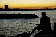 31st May 2011 - Sunset fisherman