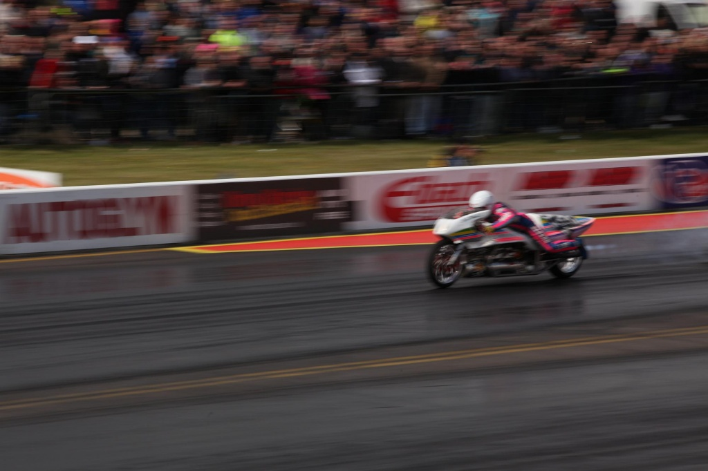 At the Drag Races - Jet Bike by netkonnexion
