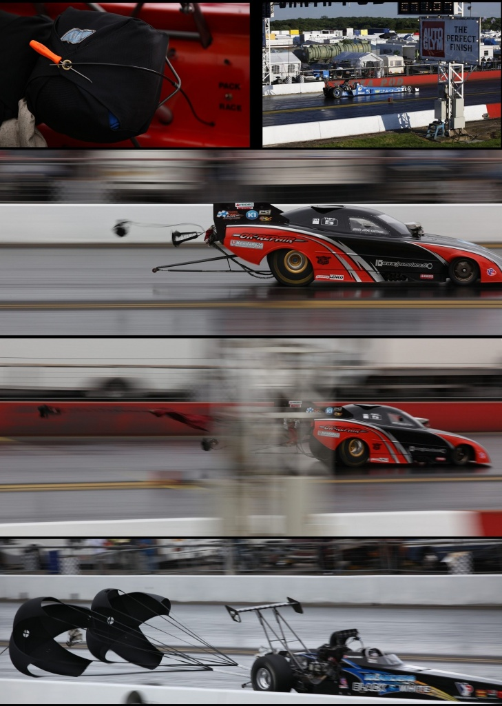 At the Drag Races - The Finish by netkonnexion