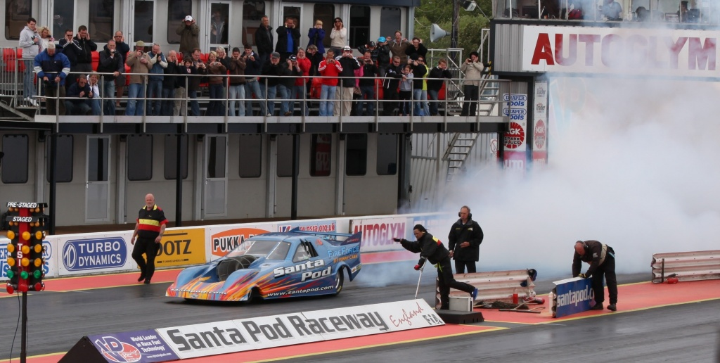 At the Drag Races - Jet Car Blown Out by netkonnexion