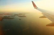 31st May 2011 - Flying in over Norway
