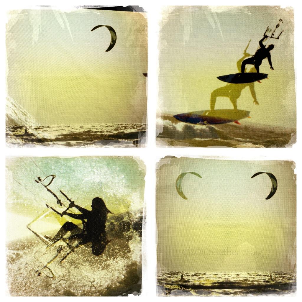 Kite Surfing Montage by pixelchix