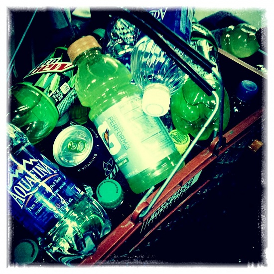 A mountain of dew... by hmgphotos