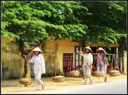 9th Apr 2010 - Three little Vietnamese ladies went to the market...