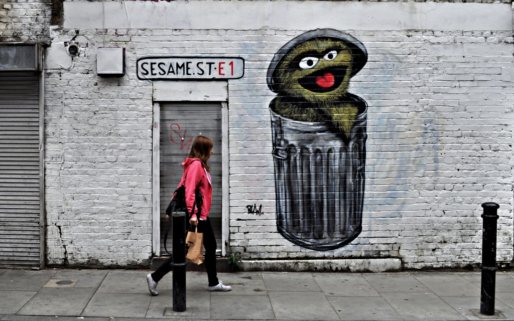 Sesame St. E1 by andycoleborn