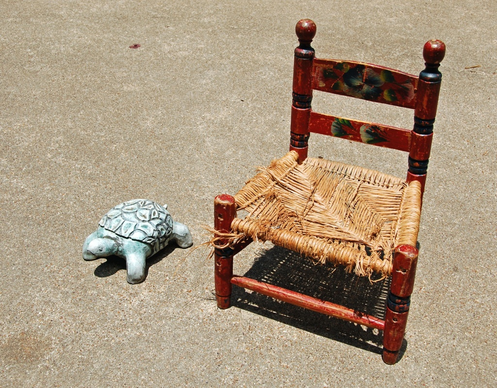 the tortoise and the chair by aikimomm