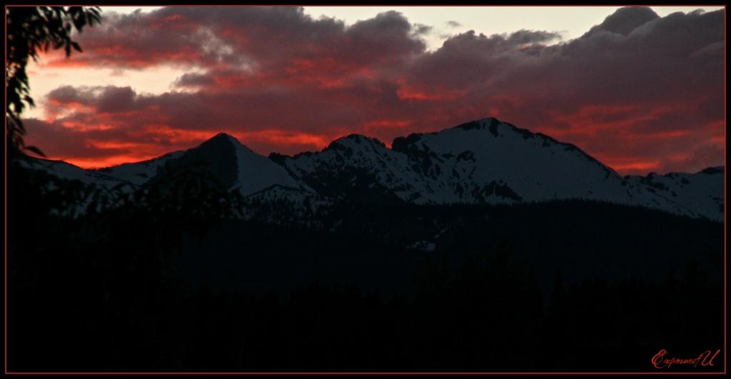 Sunset in Breckenridge by exposure4u