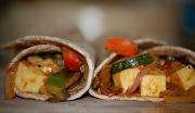13th Apr 2010 - Spicy Paneer Roti Wraps