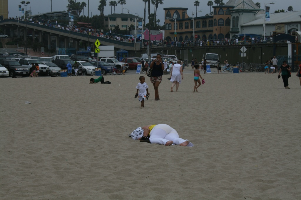 Long Day At The Santa Monica Pier by kerristephens