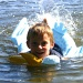 Gage Swimming by lauriehiggins