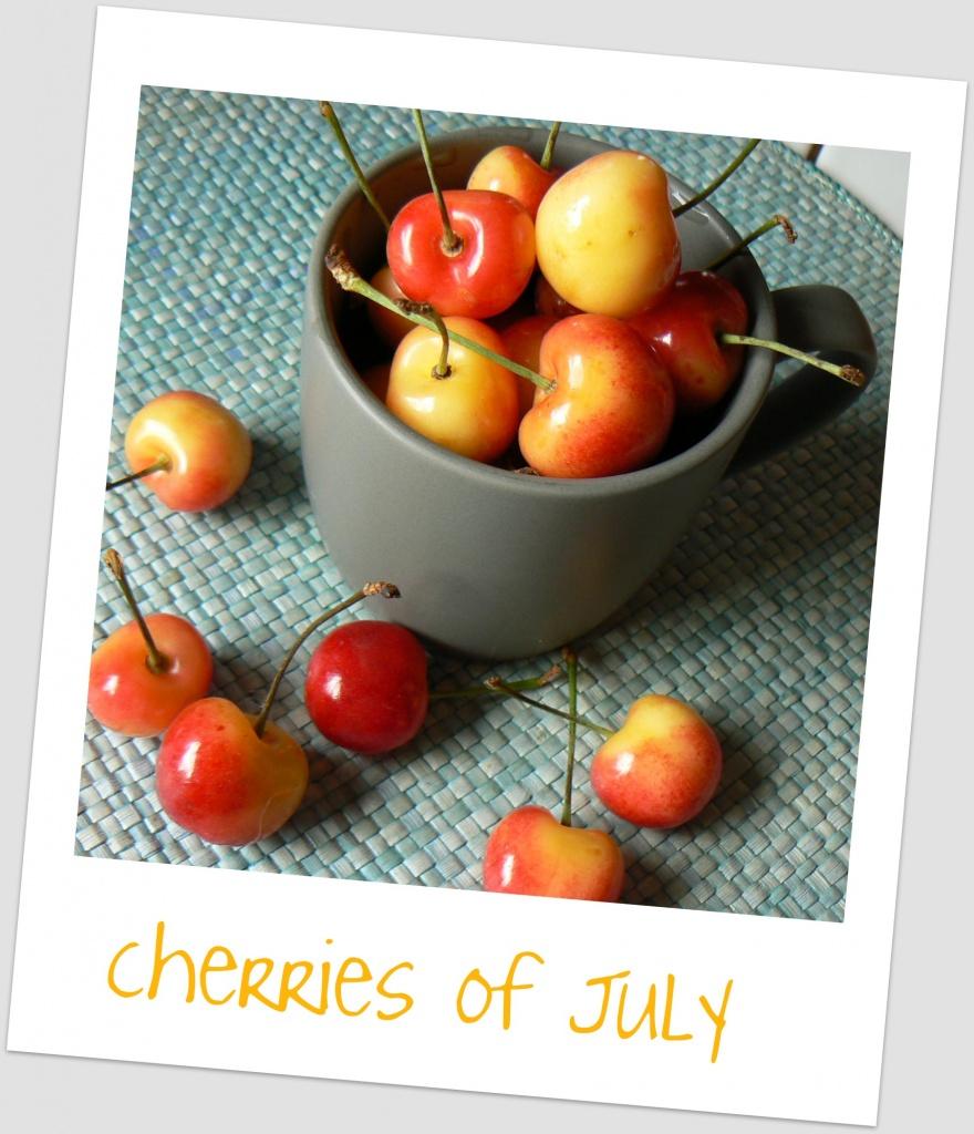 cherries of July  by reba