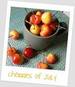 13th Jul 2011 - cherries of July
