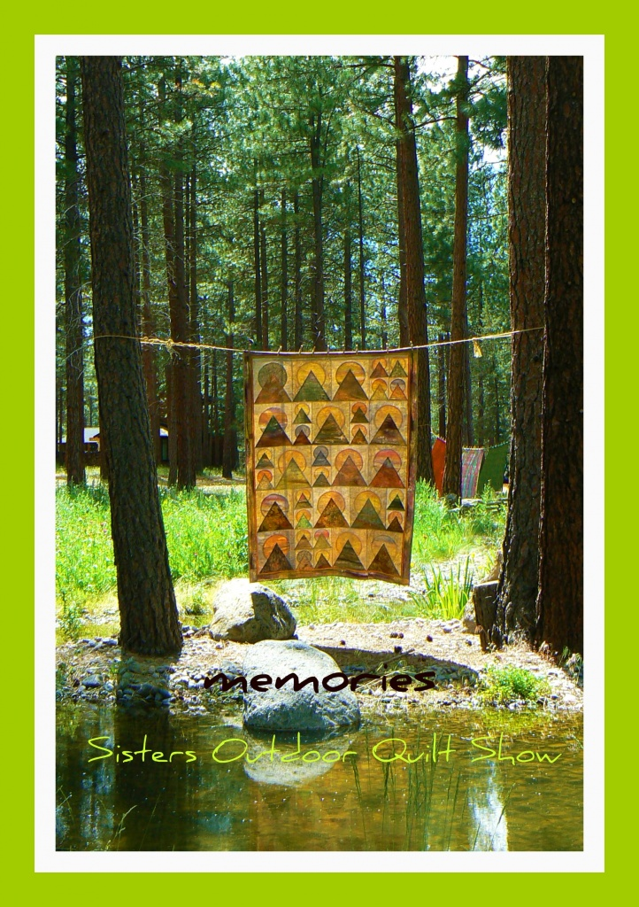 memories - 2011 Sisters Outdoor Quilt Show (quilt by Jean Wells) by reba