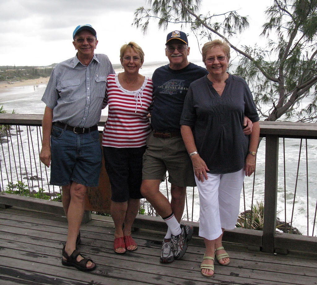 Coolum weekend away - Kevin, Lesley, Bernie & Lois by loey5150