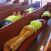 April 18. Sleeping in church by margonaut