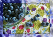 27th Jul 2011 - blueberries, blueberries - they bounce in my bowl (from Blueberries, Blueberries by Kathy Patalsky)