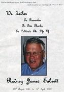 20th Apr 2010 - I'd Like You All to meet our dear Friend Rod Tabrett