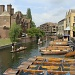 Punting on the River Cam in Cambridge.   by busylady