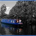 Canal boat on the Leeds-Liverpool Canal by sarahhorsfall