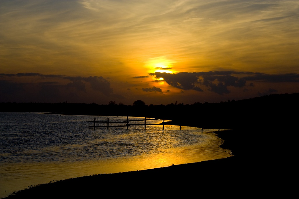 Sunset on the Stour by edpartridge