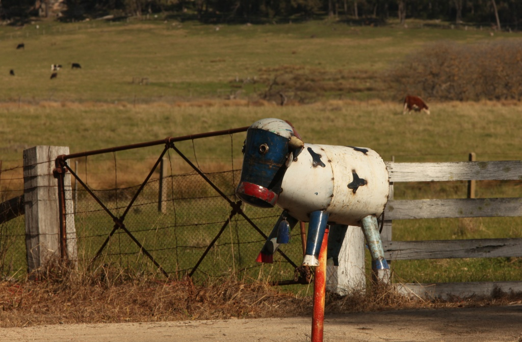 Rural letterbox by lbmcshutter