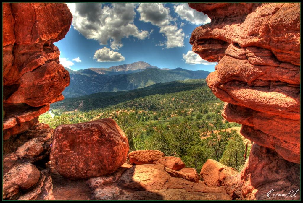Pikes Peak in the Summertime by exposure4u