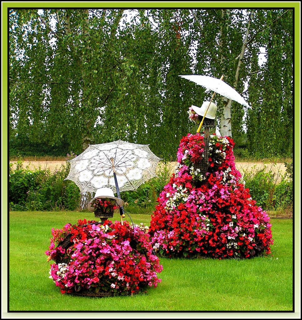 Parasol garden by judithdeacon